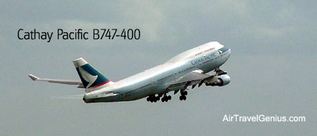 cathay pacific boeing 747