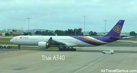 thai airways a340