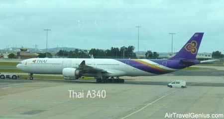 thai airways a340