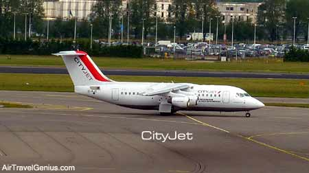 cityjet flight