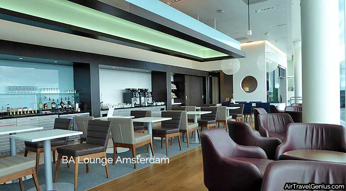 british airways lounge amsterdam schiphol airport