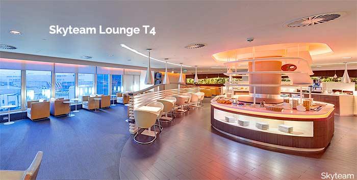 skyteam lounge heathrow t4
