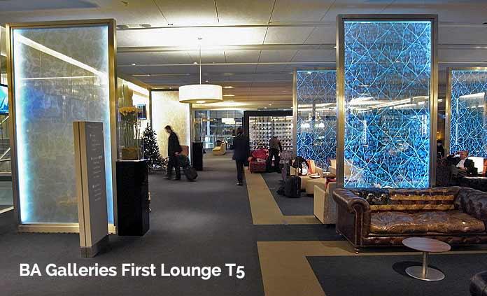 british airways galleries first lounge london heathrow t5