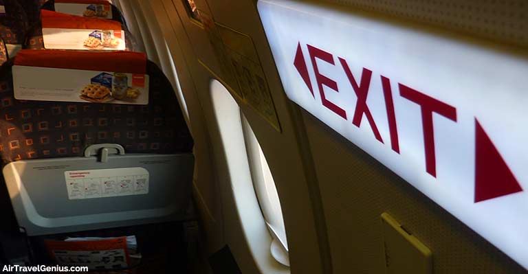 How To Get An Emergency Exit Row Seat On Your Flight