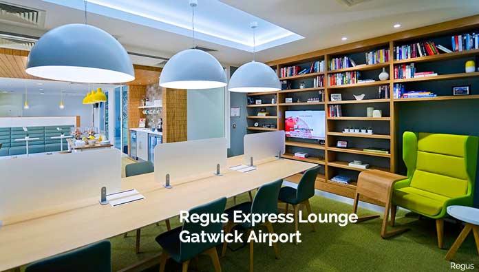 regus express gatwick airport lounge