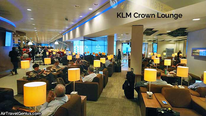 klm crown lounge amsterdam schiphol