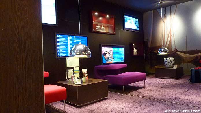 NS International rail lounge