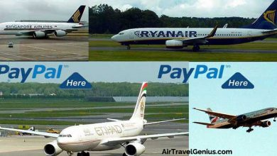 paypal airlines