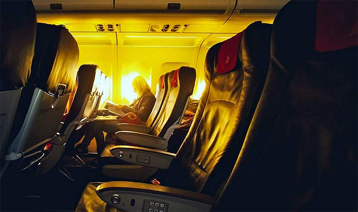 airline seat row