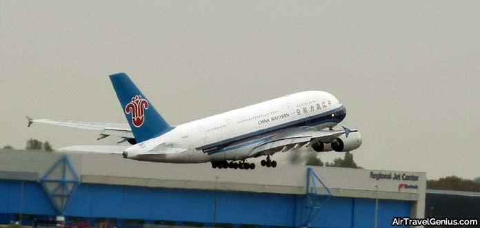 china southern airbus a380