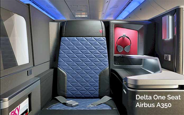 delta one seat airbus a350