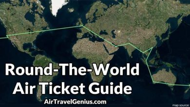 Round-The-World RTW Air Tickets Guide