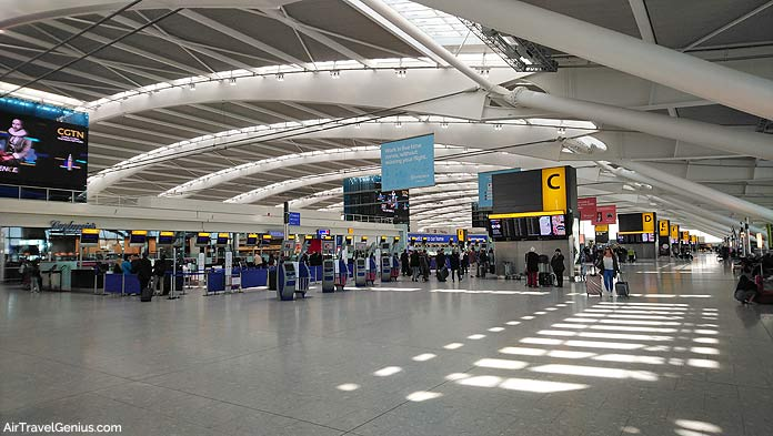 airport terminal london heathrow t5