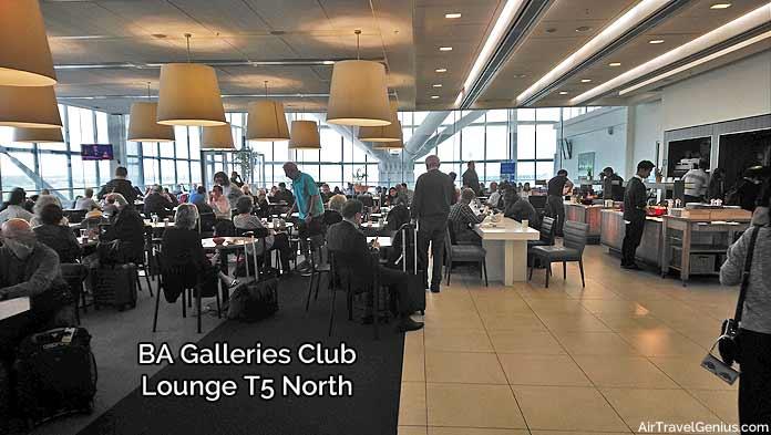 british airways galleries north lounge - london heathrow t5