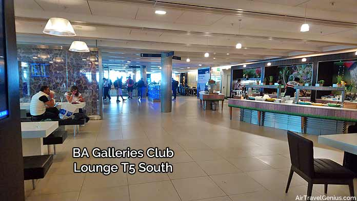 british airways galleries south lounge - london heathrow t5