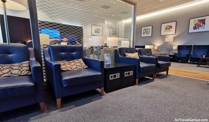 british airways lounge amsterdam serating