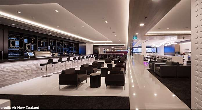 air new zealand lounge sydney