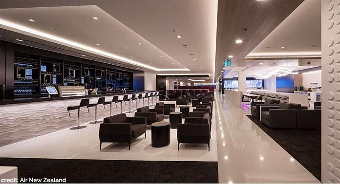 air new zealand lounge sydney